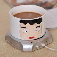 Wholesale Mini Portable Electric USB Cup Warmer Coffee Tea Cup Warmer Heater Pad Office Ports USB Hub