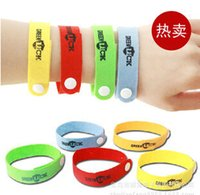Wholesale 2015 Newest Colorful Baby Mosquito Repellent Band Bracelets Anti Mosquito Baby Children Kids wristbands Baby natural Anti mosquito Bracelets