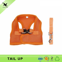 Wholesale Cheap Step In Dog Harness Breathable Pet Harness Leash
