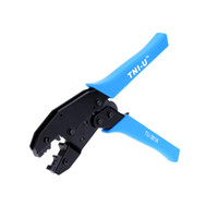 adjustable joint pliers - Crimping Pliers with Optical Fibre Joint Click Pulley Ratcheting Dsign Adjustable Wire Crimpers Crimping Tool Line Pressing Tool
