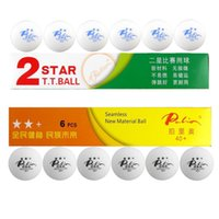 Wholesale x Palio New Material Seamless Star Star Star White Table Tennis Ping Pong Balls