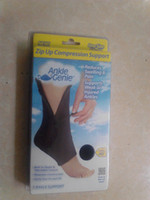 Elbow & Knee Pads ankle brace supports - 10pcs Ankle Genie Zip UP Compression Support Sport Protective Ankle Brace