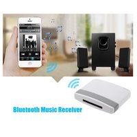 Wholesale Hot sale Bluetooth A2DP Music Receiver Audio Adapter for iPad iPod iPhone Pin Dock OVC3860 Stereo Sound Chip V902
