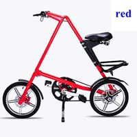 folding bikes - Strida Folding Bike STRIDA inch Aluminum alloy folding bike flexible inch Spokes none spoke wheels available