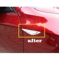 auto side molding - Car auto accessories side Turn Light Lamp Molding Trim Cover fit for BMW X6 ABS CHROME per set order lt no tra