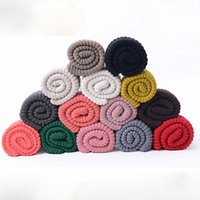 Wholesale New Arrival Cheap Women Hot Fashion Thicken Warm Knitting Wool Neckerchief Knitted Scarf For Winter