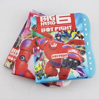 Wholesale Big Hero Robot Baymax Cartoon Codebook Retail New Note Book cm order lt no tracking