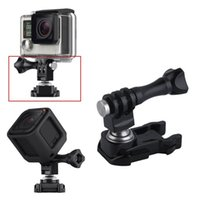 Wholesale 2016 Hot Rotatable Ball Head Quick Release Buckle Mount Adapter For GoPro Session Gopro Accessories DHL
