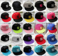 Cheap Hot sale Hip Hop MLB Snapback Baseball Caps NY Hats MLB Unisex Sports New York Women casquette Men Casual headware Free shipping