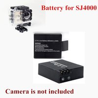 Wholesale Original V Li ion Battery Black for SJ4000 Sport Camera Brand New