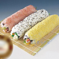 Wholesale Portable Healthy Japan Korea Home DIY Kitchen Sushi Roll Maker Bamboo Sushi Mat