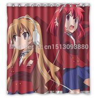 ami waterproofing - Toradora Taiga Minori And Ami custom Shower Curtain quot x72 quot Waterproof Fabric Shower Curtain for Bathroom