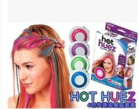 Wholesale Hot Huez colors Dye hair powdery cake Temporary Hair Chalk Powder Dye Soft Pastels Salon Party Christmas DIY Hair Colors
