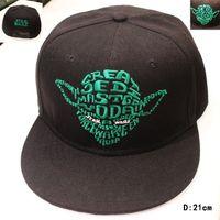 bb baseball - New arrival Fashion Brand Star Wars Caps Yoda Cool Baseball Cap BB robot Hip hop Hats For Men Women C358