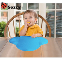 Wholesale 2016 Baby Table Mat Coton Antibiosis Waterproof Tableware Silicone Pad Mat Placemat for Baby Feeding Tiny Diner K6408