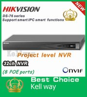 Wholesale 2014 Hikvision NVR CH Plug Play CH PoE Up to MP Onvif Project level Network video recorder