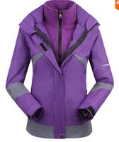 Wholesale Women Winter Outdoor Snow Sport Skiing Suit Jacket Waterproof Windproof Breathable Thermal Fleece in1 ski jacket