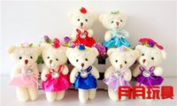 bearing packing material - Tactic bear plush toy bear cartoon bouquet Diamond bear bear joint water packing material wedding gift cm