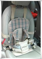 Wholesale Promotional Portable Toddler Car Seat Safety Baby Car Seat Covers Car Child Seat Soft and Comfortable Colors for Choosing