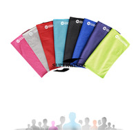 Wholesale Coolcore High tech Cooling Sport Towel New Design During the Most Intense Workouts Keep Cool Exercising Yoga Hiking Running