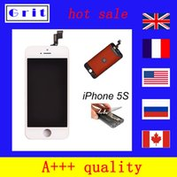 Cheap For iPhone 5S A+++ quality iphone LCD Display+Touch Screen Digitizer Assembly Replacement made from Sharp lcd