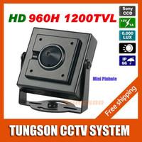 Cheap cctv camera Best pinhole lens