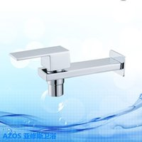 bathroom vanity kits - Free Ship Multifunction Small Single Cold Water Tap Bathtub Faucet Bathroom Vanity Sink Faucet Kitchen Basin Tap Toilet Kit
