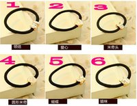 Wholesale High Quality Fashion cute clip hair Elastic Hair bands Headdress many designs heart tie