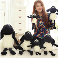 sheep plush - Inches Black Shaun The Lovely and Cute Sheep Soft Plush Stuffed Lamb Animal Goat Toy For Christmas Gift WI41