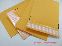 Wholesale 50pcs sale Bubble Mailers Pad mm Yellow Bubble Envelope Wrap Bag Kraft Pouches Packaging PE Bubble Bags In Stocked