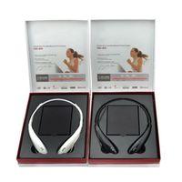 lg tone - Tone Ultra HBS Sports Stereo Bluetooth Wireless HBS HBS800 Headset Earphone Headphone for LG samsung S6 edge Plus Hard box DHL