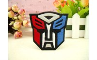 autobot patch - 7 cm TRANSFORMERS AUTOBOT iron on patches biker vest patch badge embroidered hero patch