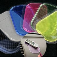 Wholesale Car Dashboard Sticky Anti Non Slip Mat Pad Holder For Cell Phone iPhone Dashboard Pad Non Slip Anti Slip Mat Powerful Silica Sticky Pad