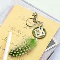 native american - 2016 New Arrival Dream Catcher Key Ring Key Chain Handmade Native Americans Special Gift for Bringing Good Dream DCR049