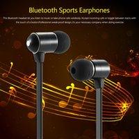 bh w - BH Wireless Bluetooth Stereo Headset In ear Sport Sweat proof BT EDR Music Earphones Hands free w Mic Black Metal order lt no trac