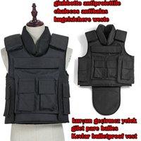 bulletproof vest - kevlar police bulletproof Vest US NIJ IIIA mm neck crotch comprehensive protection body armour kugelsichere weste swat weste Colete Balíst