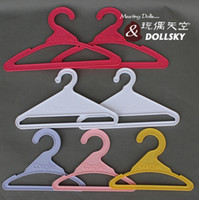 doll clothes hangers - 20pcs original doll hangers for quot inch american girl doll doll accessories gift doll clothes hangers