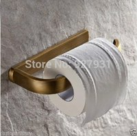 Wholesale And Retail Antique Brass Newly Toilet Roll Paper Rod Wall Mounted Bathroom Toilet Paper Holder