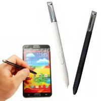 Wholesale 5Pcs Newest High Quality Black Touch Screen Stylus Replacement for Samsung Galaxy Note N7100 T889 S Pen