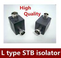 antenna isolator - 5pcs Hot sale Antenna STB isolator L type RF head male to female order lt no track