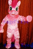 Wholesale Pinkie Pie My Little Pony Mascot Costume Adult Factory Custom Cartoon Theme Anime Cosply Mascotte Fancy Dress Kits SW1588