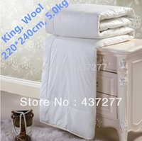 Wholesale 100 quality wool fabric quilt duvet comforter doona for Winter king size cm inch kg lbs