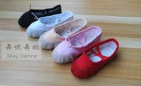Wholesale Ballet Dance Shoes for Girls Boys and Adult Ladies Soft Comfortable Size Based on the Actual Length Colors available