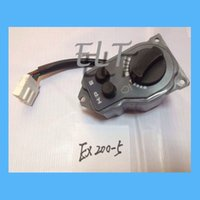 Wholesale Hitachi EX200 Excavator Throttle Knob Switch Potentiometer Dial Knob Engine Spare Parts