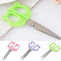 Wholesale Cute Cartoon Animals Shaped Scissors Decorative Scissors For Paper Crafts Scrapbooking Sewing Supplies PC