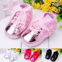 plain shoes - 2015 spring new MIYUEBB plain rose toddler shoes baby shoes