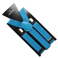 Wholesale Via Fedex DHL Candy Colors Kids Y back Suspenders Adjustable Clip on Elastic Braces Children Belt Baby Straps