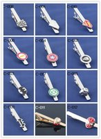 Wholesale Interesting Tie Clip Novelty Tie Clip Can be mixed For Superhero Mixed
