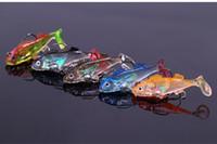 Wholesale 30pcs Soft Fishing Lures Lead Lure Sharp Hook cm g