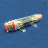 big lots distribution - Big Size Fuse Holder ANL Fuse holder Distribution INLINE GA Gold Plated Auto Car Fuse Holder